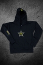 Ladies RS Hooded Star Black